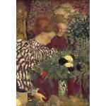 Grafika-Kids-01297 Edouard Vuillard : Femme dans une robe rayée, 1895