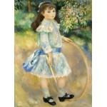 Grafika-Kids-01316 Auguste Renoir : Fillette au cerceau, 1885