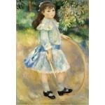 Grafika-Kids-01317 Auguste Renoir : Fillette au cerceau, 1885