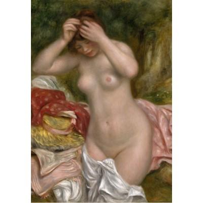 Grafika-Kids-01328 Auguste Renoir : Baigneuse Arrangeant Ses Cheveux, 1893