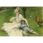 Grafika-Kids-01329 Auguste Renoir : Madame Monet et son Fils, 1874