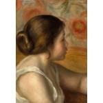 Grafika-Kids-01330 Auguste Renoir : Tête de Jeune Fille, 1890