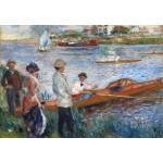 Grafika-Kids-01331 Auguste Renoir : Rameurs à Chatou, 1879