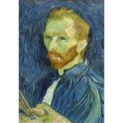 Grafika-Kids-01334 Vincent Van Gogh : Autoportrait, 1889