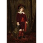 Grafika-Kids-01343 Mary Cassatt : Eddy Cassatt (Edward Buchanan Cassatt), 1875