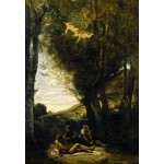 Grafika-Kids-01344 Jean-Baptiste-Camille Corot : Saint Sebastian Succored by the Holy Women, 1874