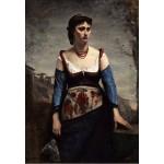 Grafika-Kids-01357 Jean-Baptiste-Camille Corot : Agostina, 1866