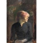 Grafika-Kids-01363 Henri de Toulouse-Lautrec : Carmen Gaudin, 1885