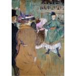 Grafika-Kids-01365 Henri de Toulouse-Lautrec : Quadrille au Moulin Rouge, 1892