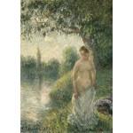 Grafika-Kids-01370 Pissarro Camille : La baigneuse, 1895