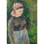Grafika-Kids-01372 Camille Pissarro : Paysanne, 1880