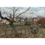 Grafika-Kids-01376 Camille Pissarro : La Barrière, 1872