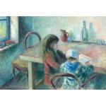 Grafika-Kids-01378 Camille Pissarro : Les Enfants, 1880