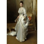 Grafika-Kids-01379 John Singer Sargent : Margaret Stuyvesant Rutherfurd White (Mrs. Henry White), 1883