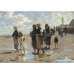 Grafika-Kids-01383 John Singer Sargent : En Route Pour la Pêche, 1878