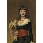 Grafika-Kids-01385 John Singer Sargent : Miss Beatrice Townsend, 1882