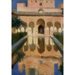 Grafika-Kids-01420 Joaquin Sorolla y Bastida : Hall des Ambassadeurs, Alhambra, Grenade, 1909