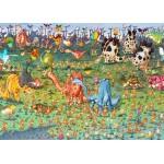 Grafika-Kids-01469 Pièces magnétiques - François Ruyer - Dinosaures