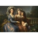 Grafika-Kids-01476 Louise-Élisabeth Vigee le Brun : La Marquise de Pezay et la Marquise de Rougé avec ses fils Alexis e
