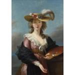 Grafika-Kids-01477 Elisabeth Vigée-Lebrun : Autoportrait au Chapeau de Paille, 1782