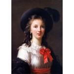 Grafika-Kids-01479 Louise-Élisabeth Vigee le Brun : autoportrait, 1781