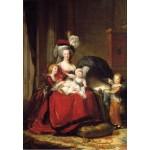 Grafika-Kids-01480 Louise-Élisabeth Vigee le Brun : Marie Antoinette et ses enfants, 1787
