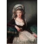 Grafika-Kids-01484 Louise-Élisabeth Vigee le Brun : Madame d'Aguesseau de Fresnes, 1789