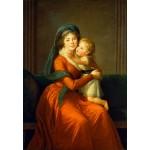 Grafika-Kids-01486 Louise-Élisabeth Vigee le Brun : Princesse Alexandra Golitsyna et son fils Piotr, 1794