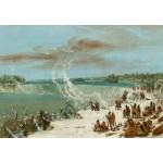 Grafika-Kids-01504 George Catlin : Portage Autour des chutes de Niagara à Table Rock, 1847-1848