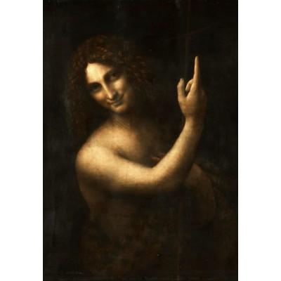 Grafika-Kids-01505 Leonard de Vinci : Saint Jean-Baptiste, 1513
