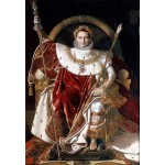 Grafika-Kids-01507 Jean-Auguste-Dominique Ingres : Napoléon sur le trône impérial, 1806