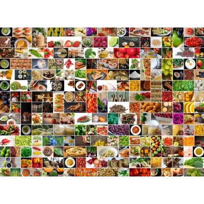 puzzle couleurs dans la cuisine grafika kids 01612 300 pi ces puzzles collages. Black Bedroom Furniture Sets. Home Design Ideas