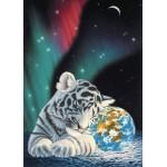 Grafika-Kids-01644 Pièces magnétiques - Schim Schimmel - Earth Light
