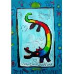 Grafika-Kids-01739 Pièces XXL - Anne Poiré & Patrick Guallino - Loup Heureux