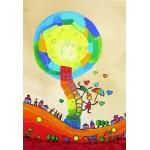 Grafika-Kids-01758 Pièces XXL - Anne Poiré & Patrick Guallino - Les Ombrelles du Bonheur