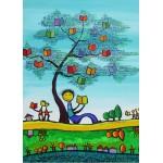 Grafika-Kids-01771 Pièces magnétiques - Anne Poiré & Patrick Guallino - D'une Feuille l'Autre