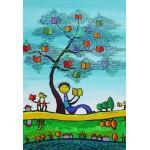 Grafika-Kids-01773 Pièces XXL - Anne Poiré & Patrick Guallino - D'une Feuille l'Autre