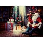 Grafika-Kids-01831 Pièces magnétiques - Père Noël