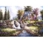 Grafika-Kids-01847 Pièces magnétiques - Dennis Lewan - Alpine Falls