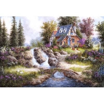 Grafika-Kids-01849 Pièces XXL - Dennis Lewan - Alpine Falls
