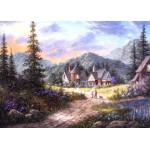 Grafika-Kids-01852 Pièces magnétiques - Dennis Lewan - Hills Of Bavaria