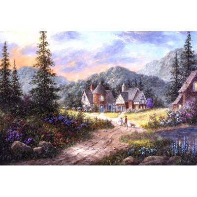 Grafika-Kids-01854 Pièces XXL - Dennis Lewan - Hills Of Bavaria