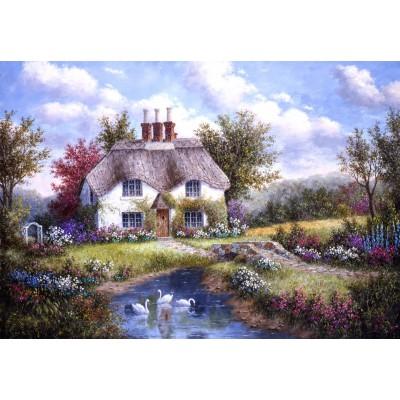 Grafika-Kids-01861 Dennis Lewan - Swan Creek Cottage