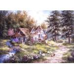 Grafika-Kids-01882 Pièces magnétiques - Dennis Lewan - Glacier Ridge Manor