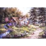Grafika-Kids-01884 Pièces XXL - Dennis Lewan - Glacier Ridge Manor