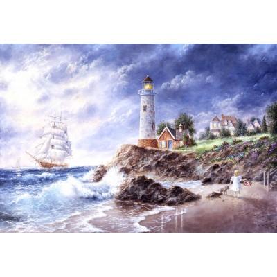 Grafika-Kids-01889 Pièces XXL - Dennis Lewan - Anchor Cove