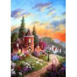 Grafika-Kids-01902 Pièces magnétiques - Dennis Lewan - Castle Ridge Manor