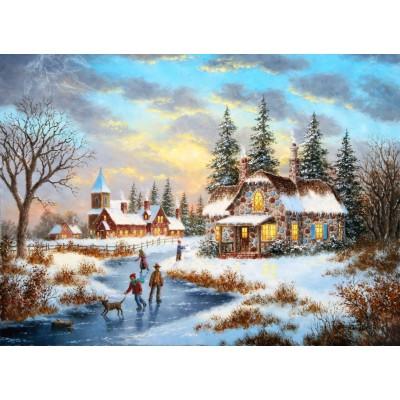 Grafika-Kids-01905 Dennis Lewan - A Mid-Winter's Eve