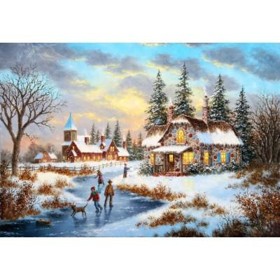 Grafika-Kids-01906 Dennis Lewan - A Mid-Winter's Eve