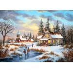 Grafika-Kids-01907 Pièces magnétiques - Dennis Lewan - A Mid-Winter's Eve